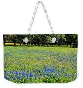 Meadows Of Blue And Yellow. Texas Wildflowers Weekender Tote Bag