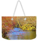 Meandering Stream  Weekender Tote Bag