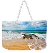 Meandering Waves On Tropical Beach Weekender Tote Bag