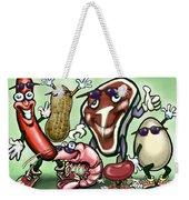 Meats Protein Food Group Weekender Tote Bag