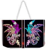 Mech Dragons Pastel Weekender Tote Bag
