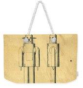Mechanical Man Patent Weekender Tote Bag