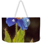 Meconopsis Himalayan Blue Poppy Weekender Tote Bag