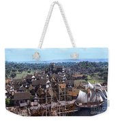 Med Village Weekender Tote Bag by Dominic Davison