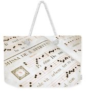Mediavel Chorus Book  Weekender Tote Bag by Fabrizio Troiani