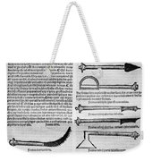 Medical Instruments, 1531 Weekender Tote Bag
