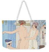 Medical Massage Weekender Tote Bag by Joseph Kuhn-Regnier