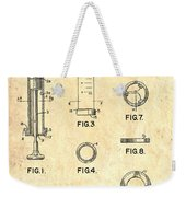 Medical Syringe Patent 1954 Weekender Tote Bag