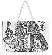 Medicine: Charlatan, C1600 Weekender Tote Bag