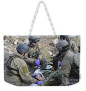 Medics Of The British Special Forces Weekender Tote Bag