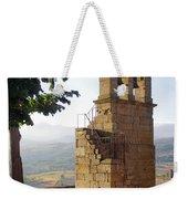 Medieval Campanile  Weekender Tote Bag by Carlos Caetano