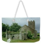 Medieval Church And Churchyard Weekender Tote Bag