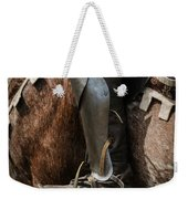 Medieval Faire Boot Detail 3 Weekender Tote Bag