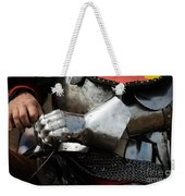 Medieval Faire Ready To Ride Weekender Tote Bag