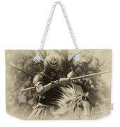 Medieval Jousting Weekender Tote Bag