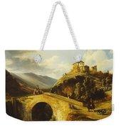 Medieval Landscape Weekender Tote Bag
