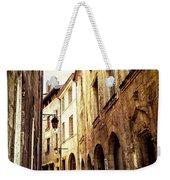 Medieval Street In Perigueux Weekender Tote Bag by Elena Elisseeva