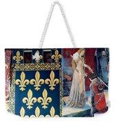 Medieval Tapestry Weekender Tote Bag by France  Art