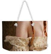Medieval Tudor Woman Weekender Tote Bag