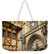 Medieval Vannes France Weekender Tote Bag by Elena Elisseeva