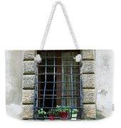Medieval Window With Iron Grilles Weekender Tote Bag