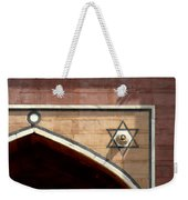 Meditate On This I Will Weekender Tote Bag