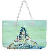 Meditation Blues Weekender Tote Bag