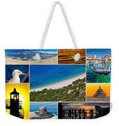 Mediterranean Coast Collage Weekender Tote Bag