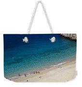 Mediterranean Coastal Scene Weekender Tote Bag