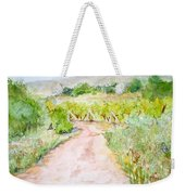 Medjugorje Path To Apparition Hill Weekender Tote Bag