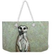 Meerkat Weekender Tote Bag by James W Johnson
