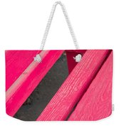 Wimberley Texas Market Red Bench Weekender Tote Bag
