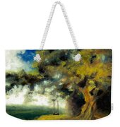 Meet Me At Our Swing Weekender Tote Bag by Melissa Herrin