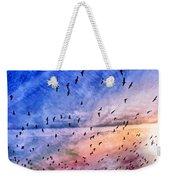 Meet Me Halfway Across The Sky 2 Weekender Tote Bag by Angelina Vick