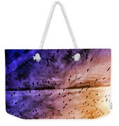Meet Me Halfway Across The Sky 3 Weekender Tote Bag by Angelina Vick