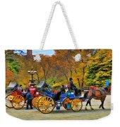 Meeting Of The Carriages Weekender Tote Bag