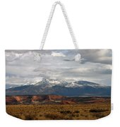 Meeting Of The Mountains And Desert Weekender Tote Bag