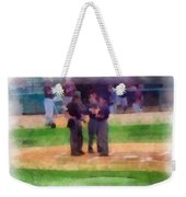Meeting Of The Umpires Photo Art Weekender Tote Bag