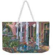 Meeting Street Inn Charleston Weekender Tote Bag by Richard Harpum