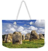 Megalithic Monuments In Brittany Weekender Tote Bag by Elena Elisseeva