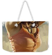 Megan Fox Artwork Weekender Tote Bag