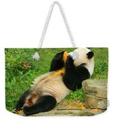 Mei Xiang Chowing On Frozen Treat Weekender Tote Bag