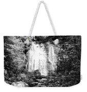 Meigs Falls Smoky Mountains Bw Weekender Tote Bag