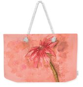 Melancholoy Weekender Tote Bag by Crystal Hubbard
