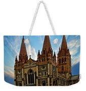 Melbourne Church Weekender Tote Bag
