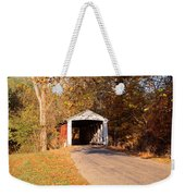 Melcher Covered Bridge Parke Co In Usa Weekender Tote Bag