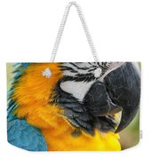 Mele E Manono Ia Ea Macao Tropical Birds Of Hawaii Weekender Tote Bag