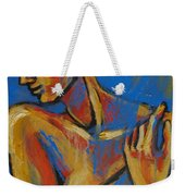 Mellow Yellow- Female Nude Portrait Weekender Tote Bag