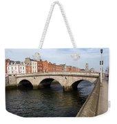 Mellows Bridge In Dublin Weekender Tote Bag