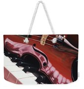 Melodic Reflections Weekender Tote Bag